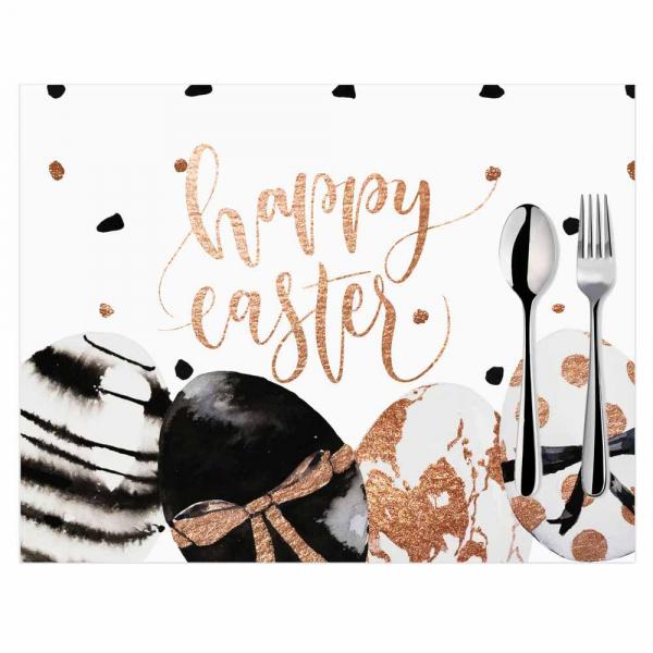 Σουπλά (Σετ 2τμχ) Mike & Co Happy Easter 790-4275/1