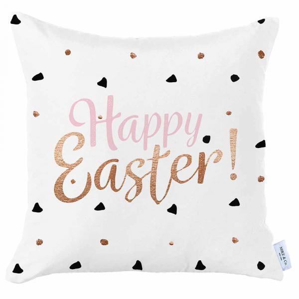 Διακοσμητική Μαξιλαροθήκη (45x45) Mike & Co Happy Easter 712-4280/1