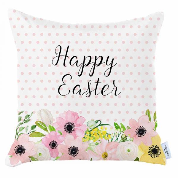 Διακοσμητική Μαξιλαροθήκη (45x45) Mike & Co Happy Easter 712-4294/1