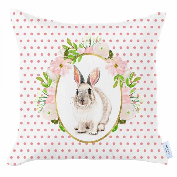 Διακοσμητική Μαξιλαροθήκη (45x45) Mike & Co Happy Easter 712-4293/1