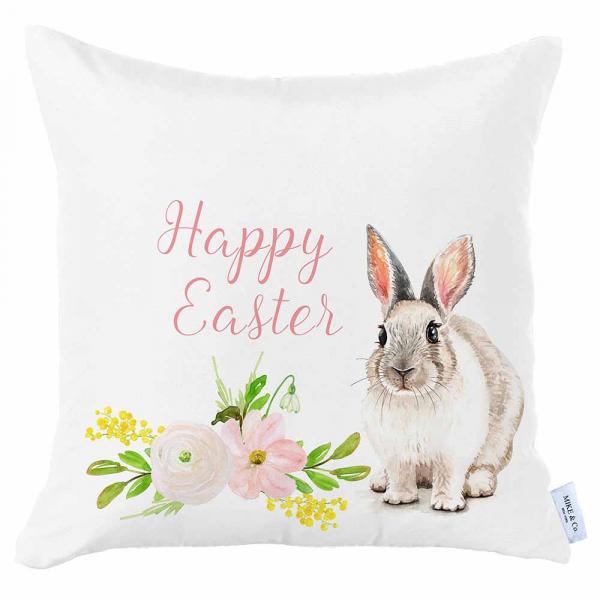 Διακοσμητική Μαξιλαροθήκη (45x45) Mike & Co Happy Easter 712-4292/1