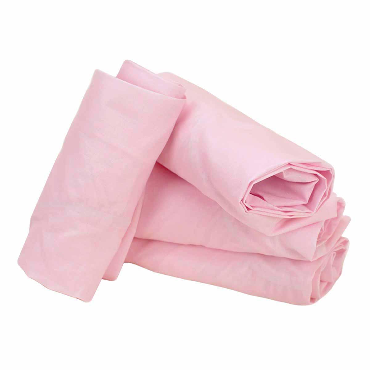Κατωσέντονο Λίκνου Με Λάστιχο Ninna Nanna 12450 Ροζ