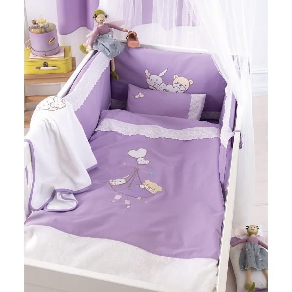 Σετ Κούνιας 5τμχ Kentia Baby Lullaby