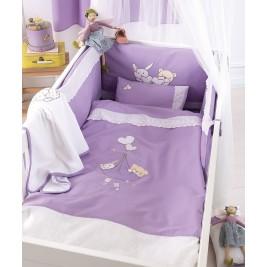 Σετ Κούνιας 4τμχ Kentia Baby Lullaby