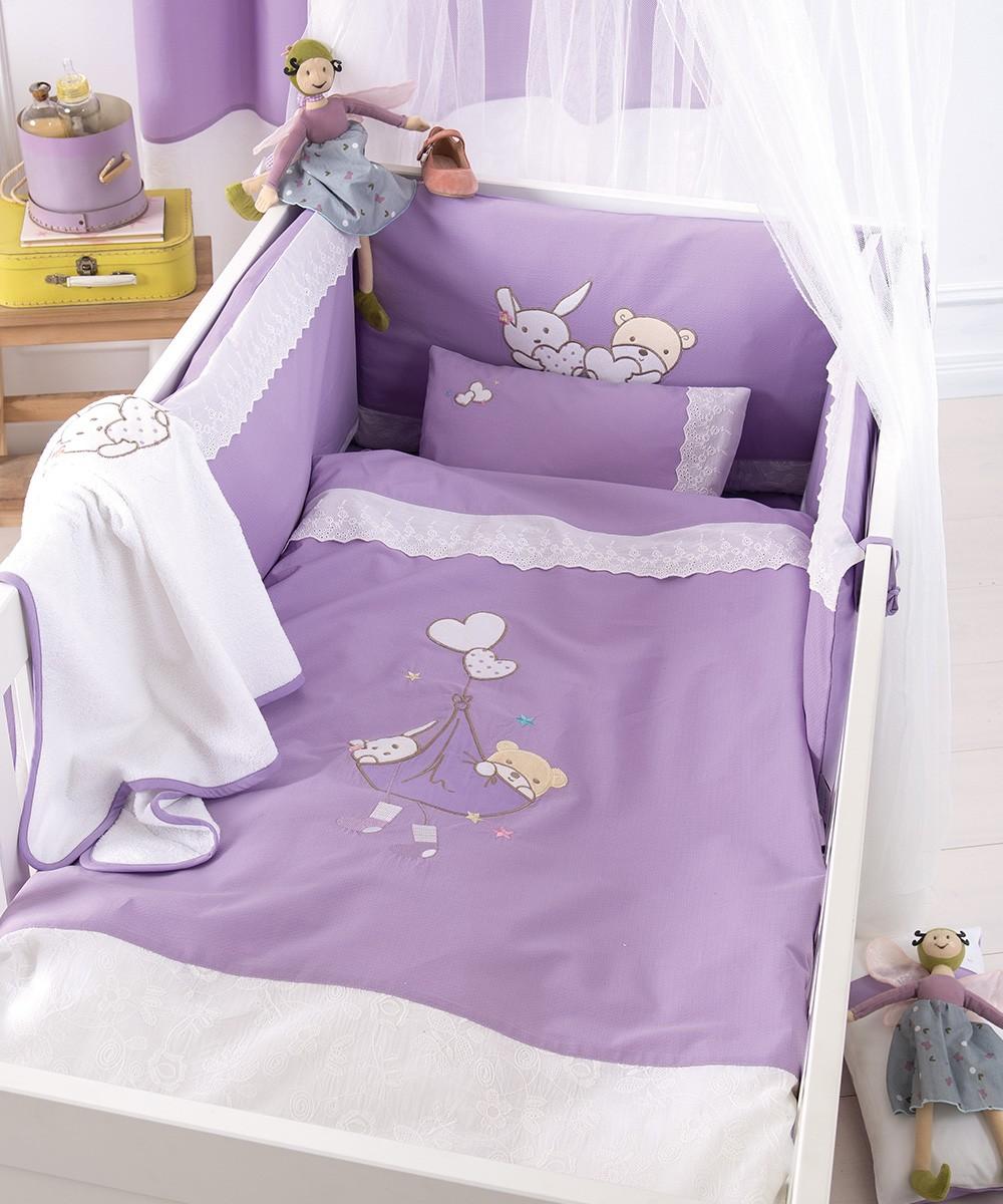 Σετ Κούνιας 4τμχ Kentia Baby Lullaby 30987