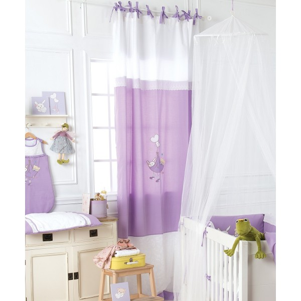 Παιδική Κουρτίνα (140x270) Με Θηλιές Kentia Baby Lullaby