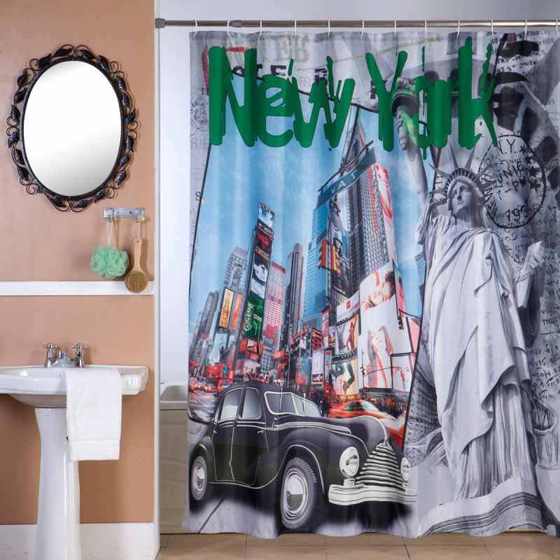 Κουρτίνα Μπάνιου (180×180) Viopros Γιορκ