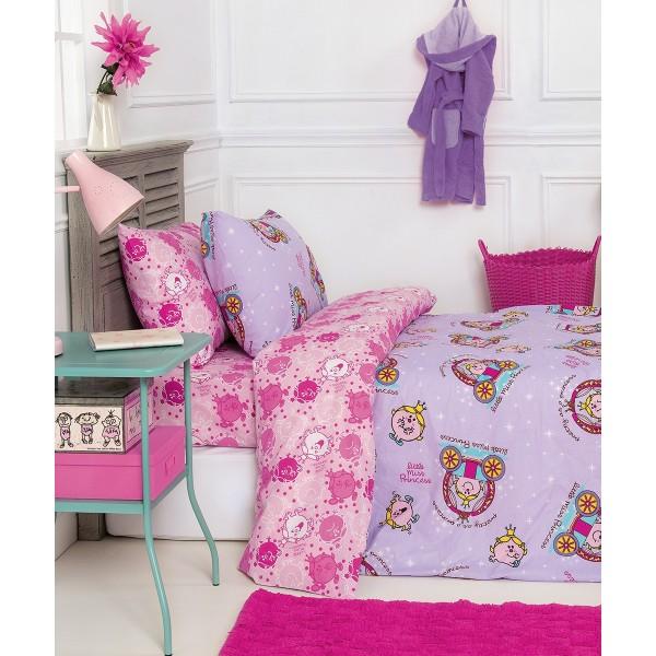 Παπλωματοθήκη Μονή (Σετ) Kentia Kids Collection Little Miss