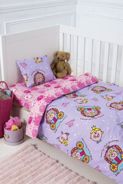 Παπλωματοθήκη Κούνιας (Σετ) Kentia Baby Little Miss 31028