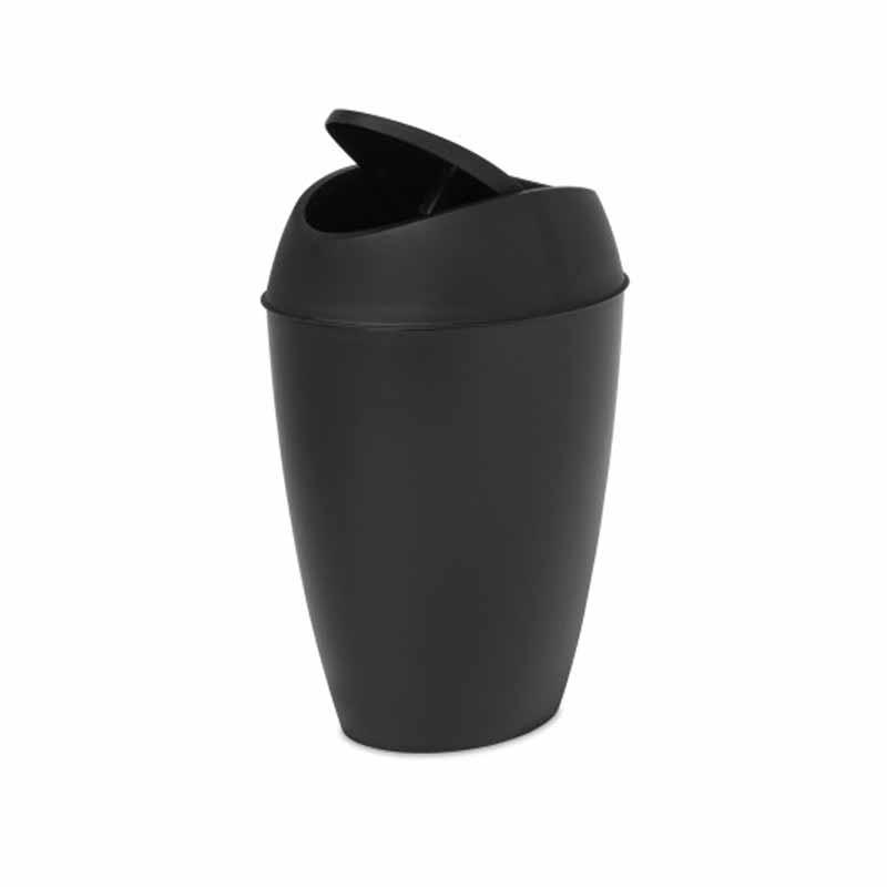 Κάδος Απορριμμάτων (22×36) Umbra Twirla Black 1012978-040