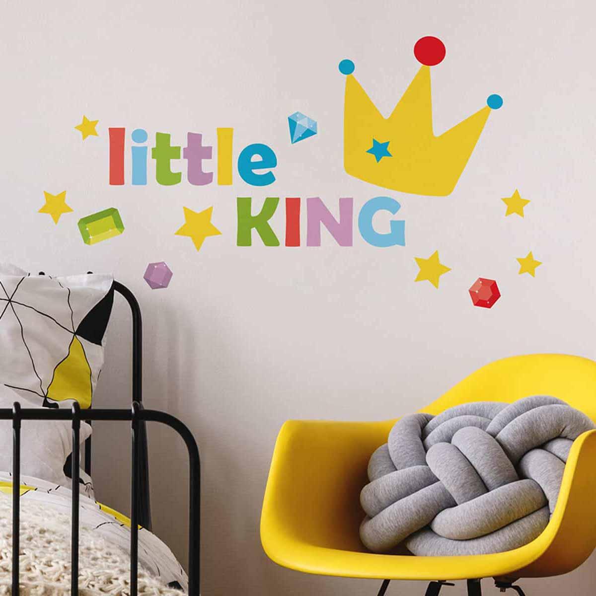 Παιδικό Αυτοκόλλητο Τοίχου Ango Little King 11107