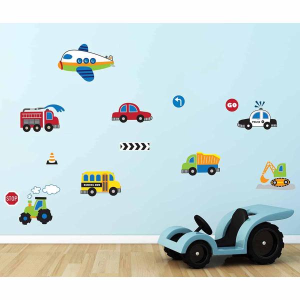 Παιδικά Αυτοκόλλητα Τοίχου Ango Traffic 15110