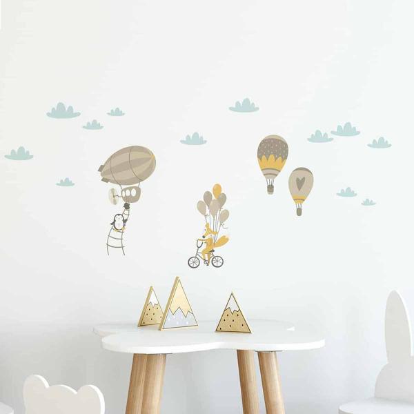 Παιδικά Αυτοκόλλητα Τοίχου Ango Air Balloon 15111