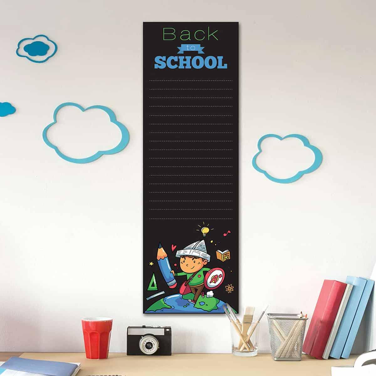 Παιδικός Αυτοκόλλητος Μαυροπίνακας Τοίχου Ango Blackboard Superboy 15202