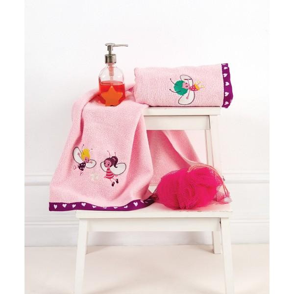 Βρεφικές Πετσέτες (Σετ 2τμχ) Kentia Baby Fairy