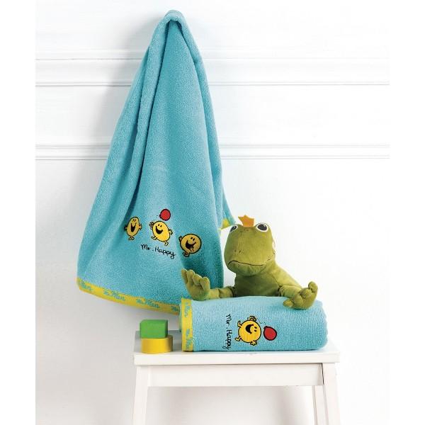 Βρεφικές Πετσέτες (Σετ 2τμχ) Kentia Baby Mr Men