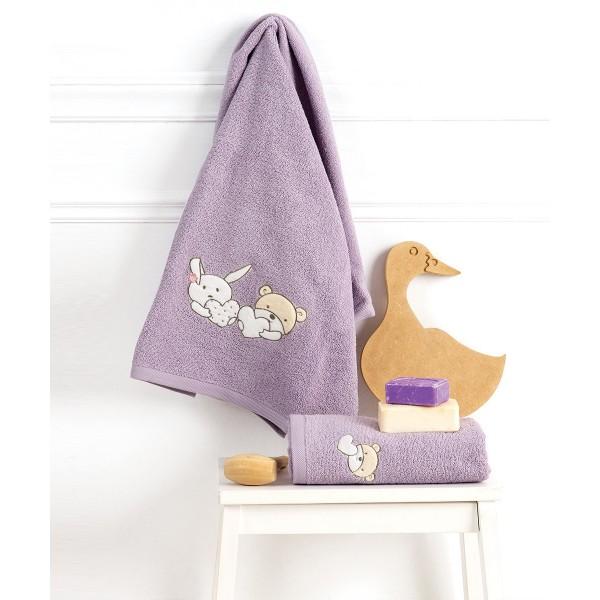 Βρεφικές Πετσέτες (Σετ 2τμχ) Kentia Baby Lullaby