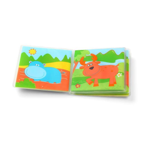 Βιβλίο Δραστηριότητας Μπάνιου BabyOno Άγρια Ζώα BN887