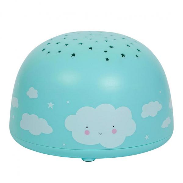 Προβολέας Με Φως Α Little Lovely Company Cloud PLCLBU02