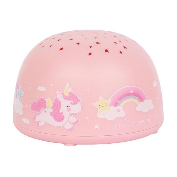 Προβολέας Με Φως Α Little Lovely Company Unicorn PLUNPI05