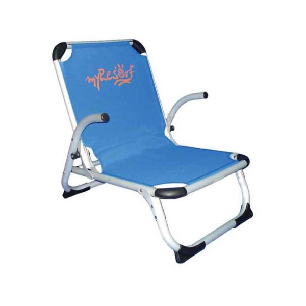Καρεκλάκι Παραλίας Αλουμινίου Ενισχυμένο Velco 141-9731-1 Μπλε