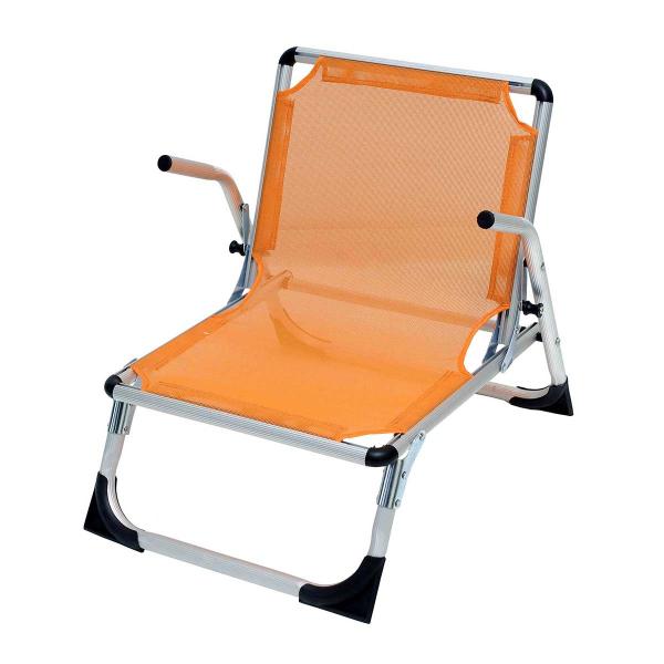 Καρεκλάκι Παραλίας Αλουμινίου Velco 141-5702-2 Πορτοκαλί