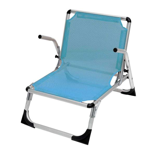 Καρεκλάκι Παραλίας Αλουμινίου Velco 141-5702-4 Γαλάζιο