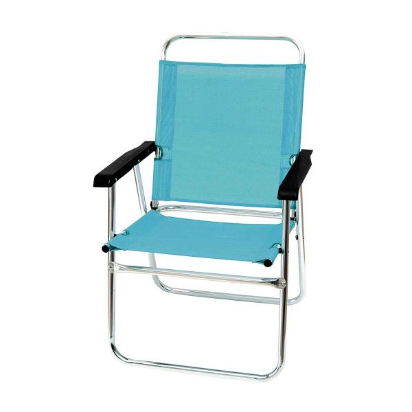 Καρέκλα Παραλίας Αλουμινίου Velco 151-8963-5 Γαλάζιο