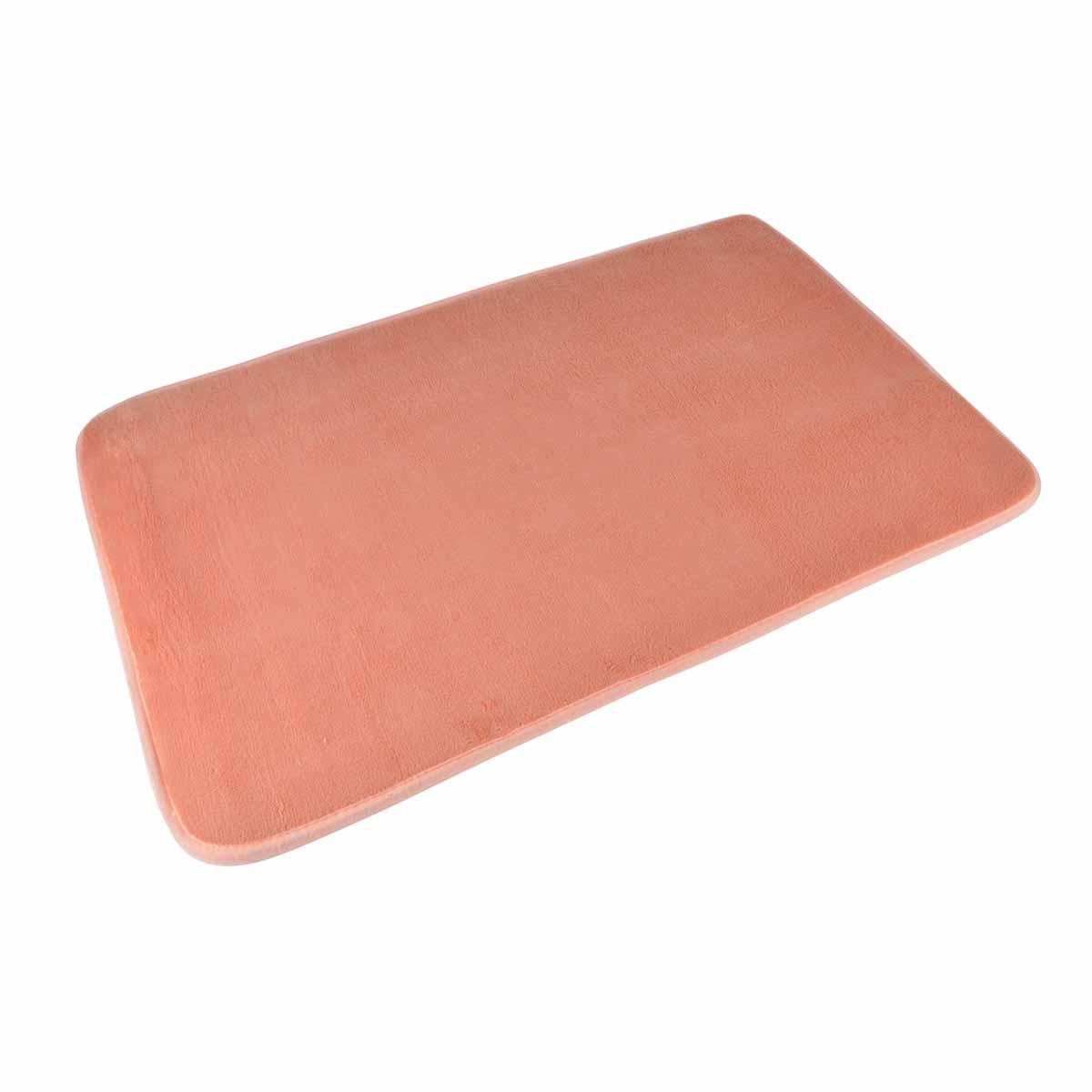 Πατάκι Μπάνιου (45×75) L-C Vitamine Coral 6GMB269CO