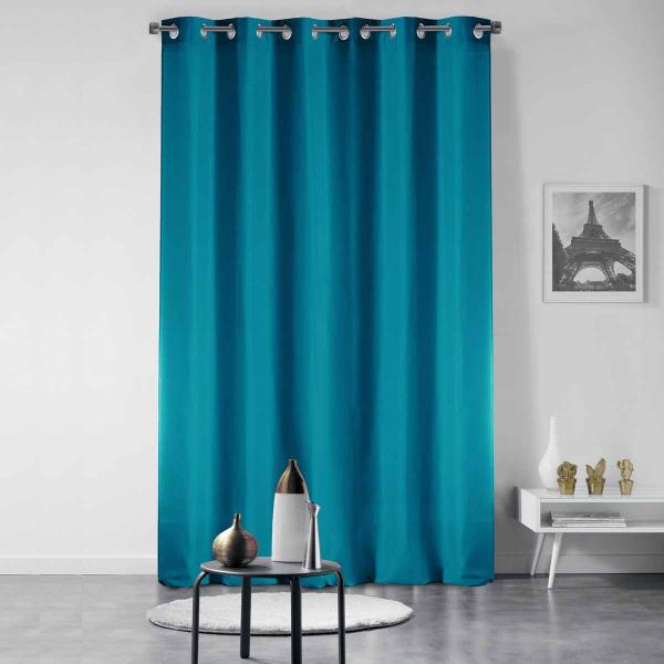 Κουρτίνα (140x280) Με Τρουκς L-C Essentiel Bleu 1604832