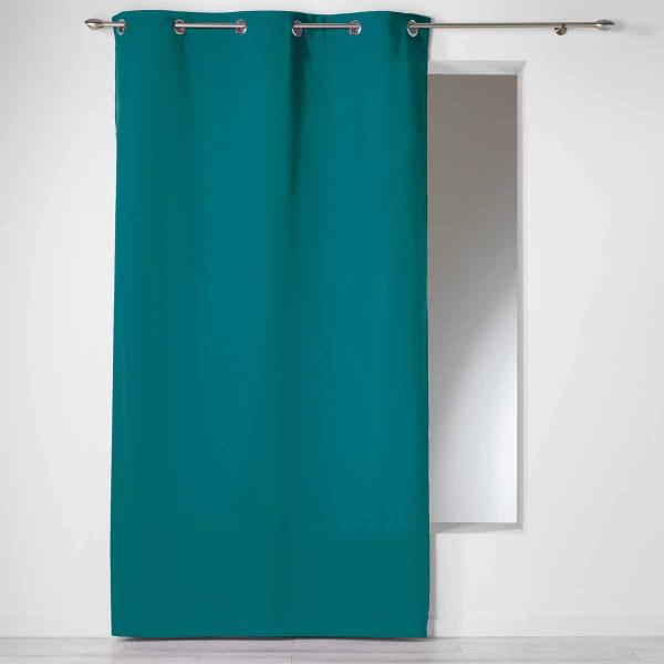 Κουρτίνα (140x240) Με Τρουκς L-C Panama Bleu 1605662