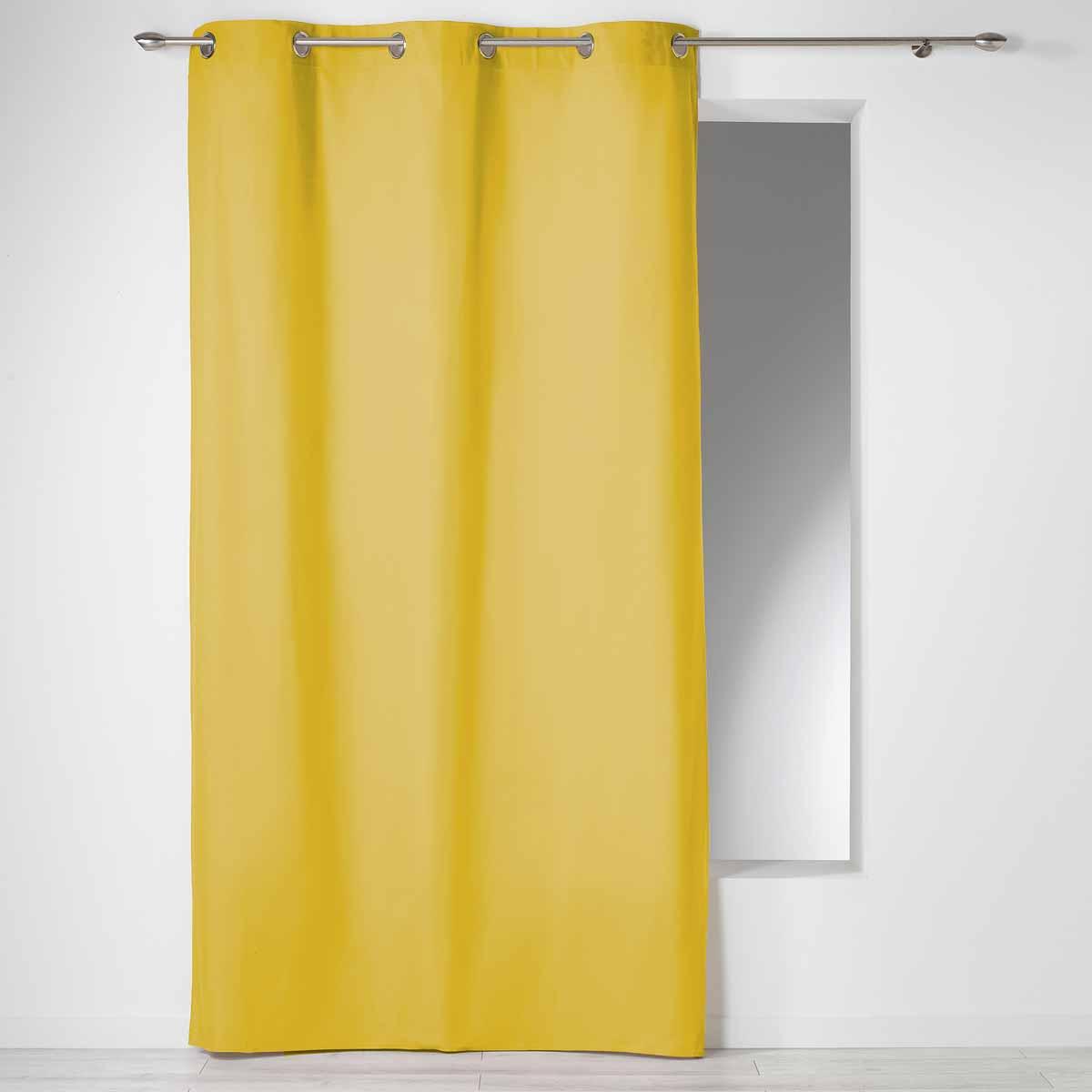 Κουρτίνα (140×240) Με Τρουκς L-C Panama Miel 1605665