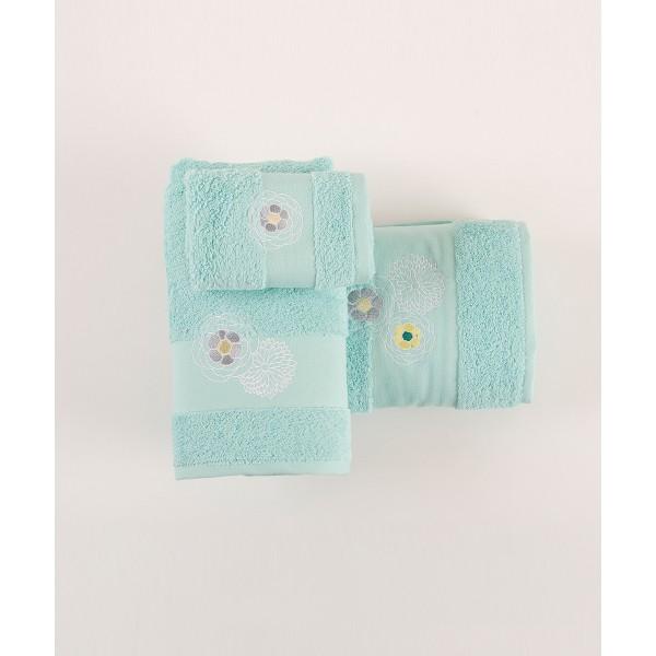 Πετσέτες Μπάνιου (Σετ 3τμχ) Kentia Loreta 10
