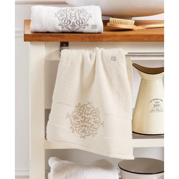 Πετσέτες Μπάνιου (Σετ 3τμχ) Kentia Kiara