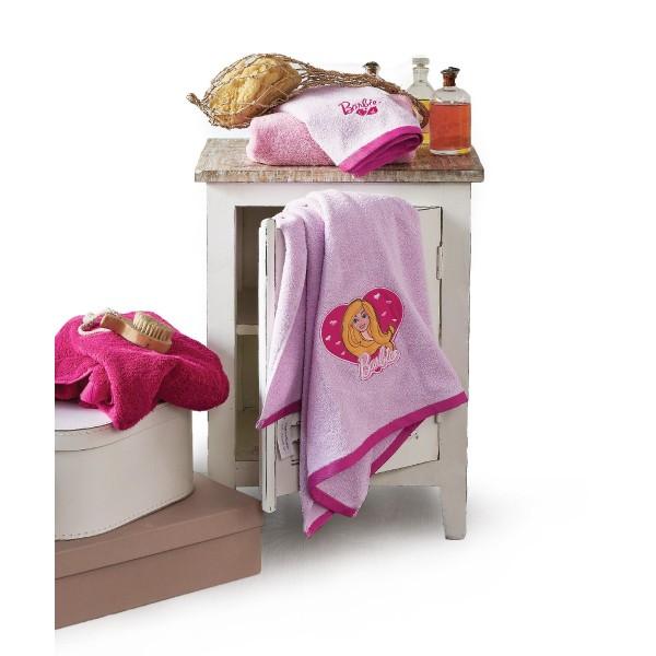 Παιδικές Πετσέτες (Σετ 2τμχ) Kentia Kids Collection Barbie 045
