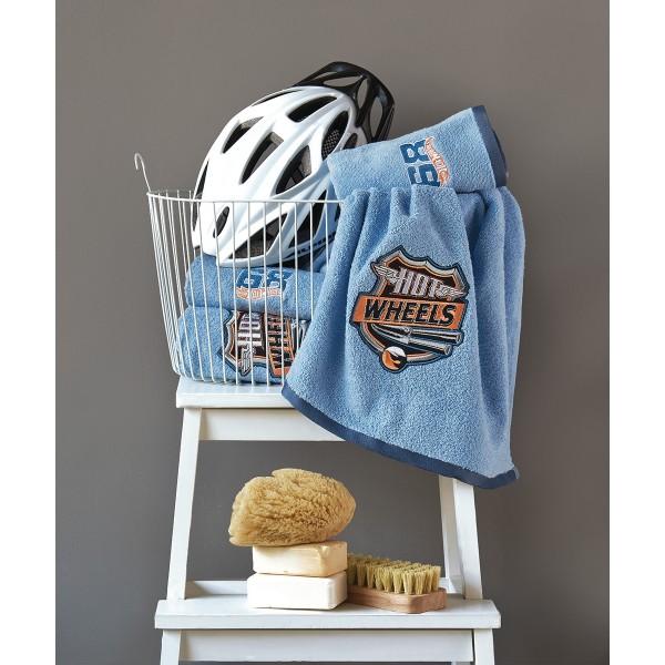 Παιδικές Πετσέτες (Σετ 2τμχ) Kentia Kids Collection Hot Wheels 0