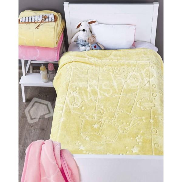 Κουβέρτα Βελουτέ Κούνιας Kentia Baby Balloon 12