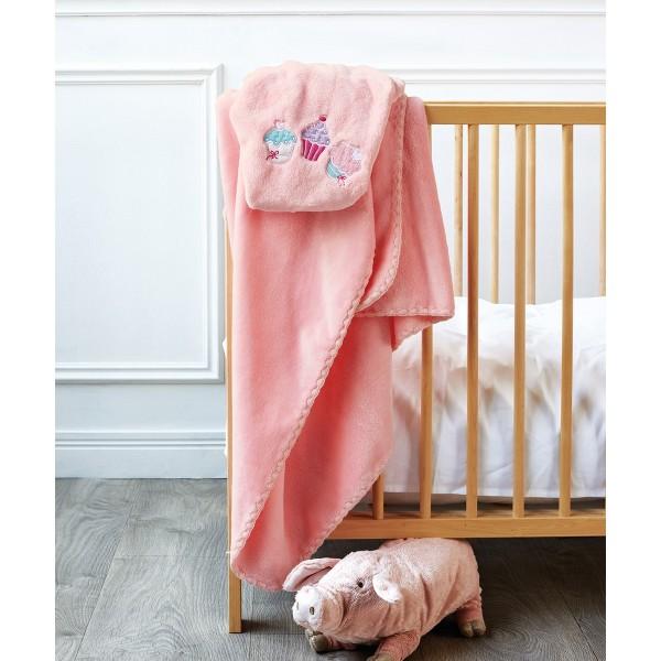 Κουβέρτα Βελουτέ Κούνιας Kentia Baby Sweets
