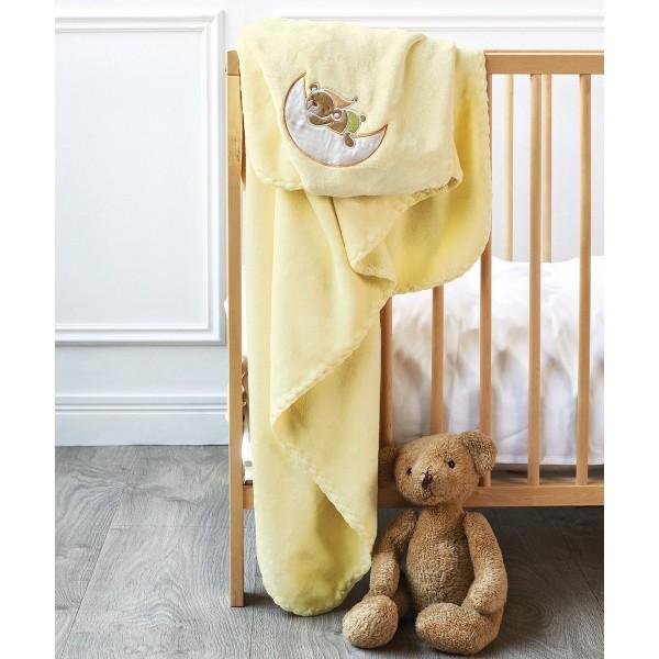 Κουβέρτα Βελουτέ Κούνιας Kentia Baby Heaven