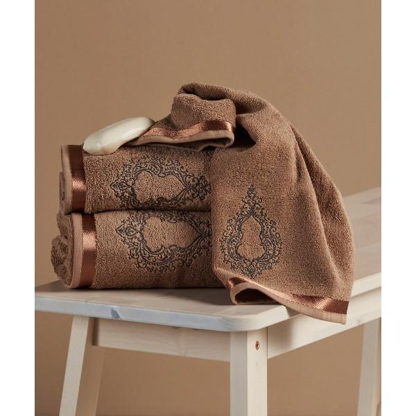 Πετσέτες Μπάνιου (Σετ 3τμχ) Kentia Simoneta 26