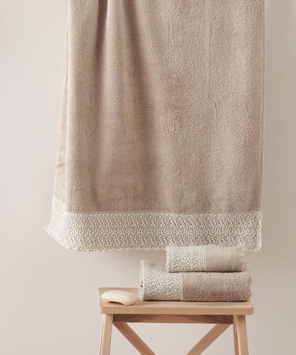 Πετσέτες Μπάνιου (Σετ 3τμχ) Kentia Modena 26