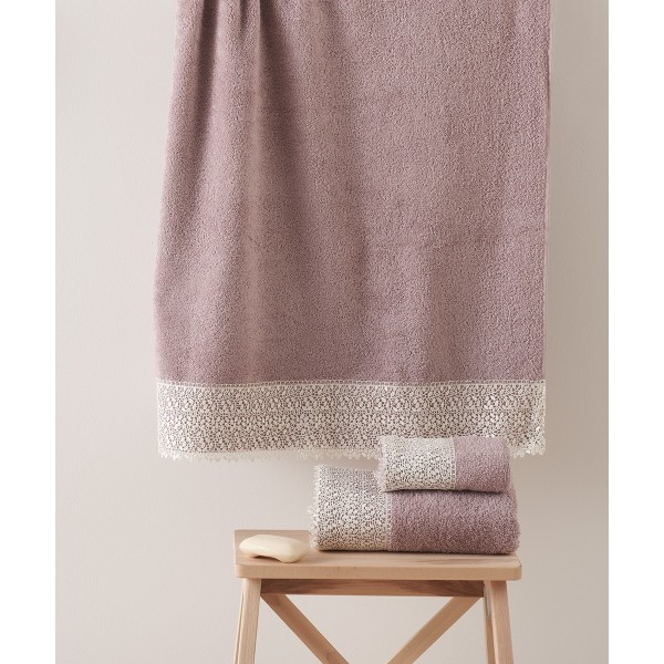 Πετσέτες Μπάνιου (Σετ 3τμχ) Kentia Modena 35