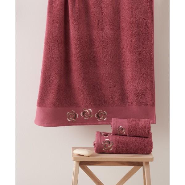 Πετσέτες Μπάνιου (Σετ 3τμχ) Kentia Idoya 20
