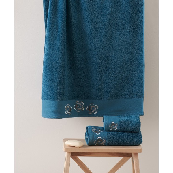 Πετσέτες Μπάνιου (Σετ 3τμχ) Kentia Idoya 19