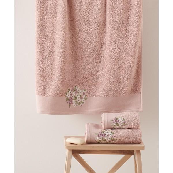 Πετσέτες Μπάνιου (Σετ 3τμχ) Kentia Fiorete 18
