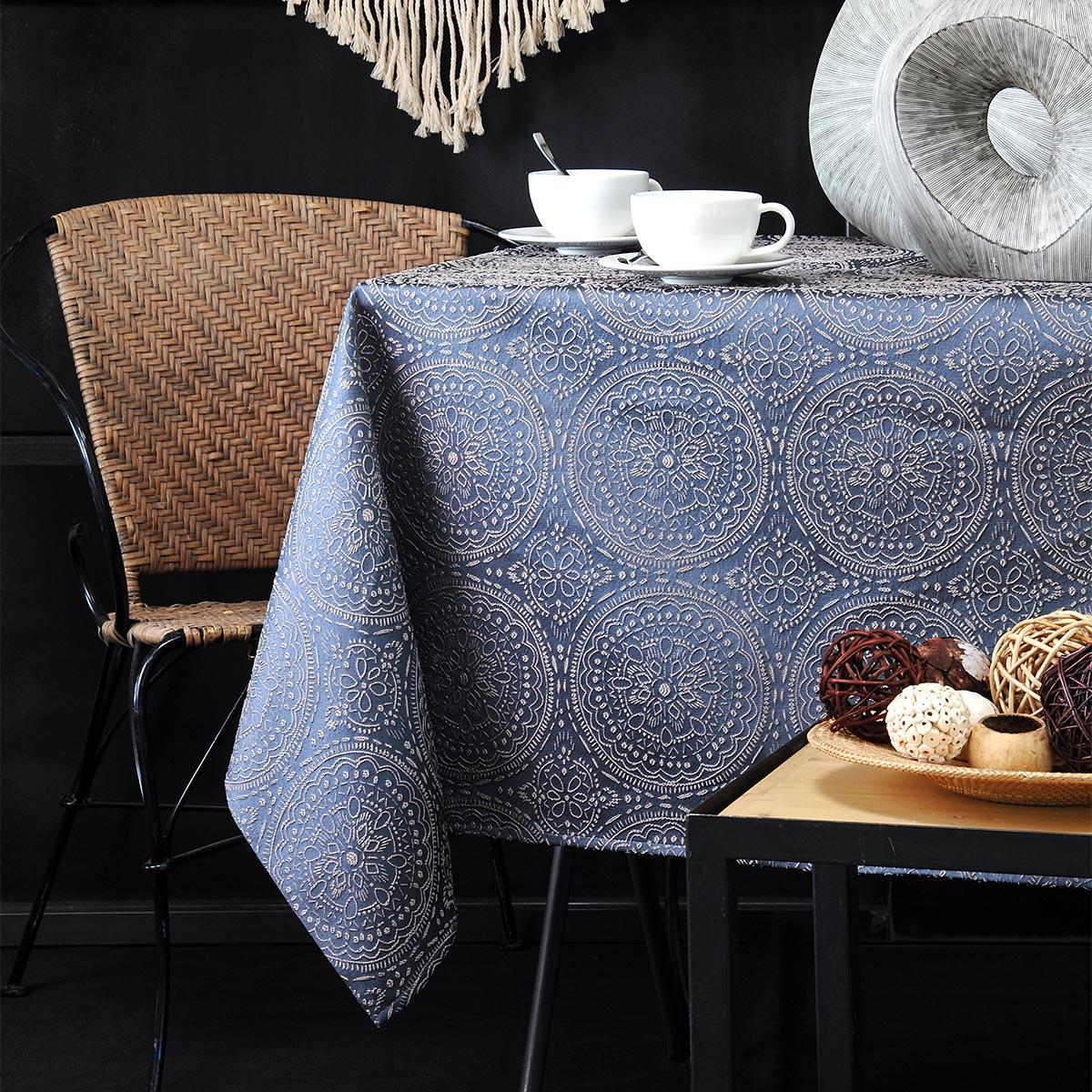 Τραπεζομάντηλο (140×140) S-F Kolam Bleu N68793003