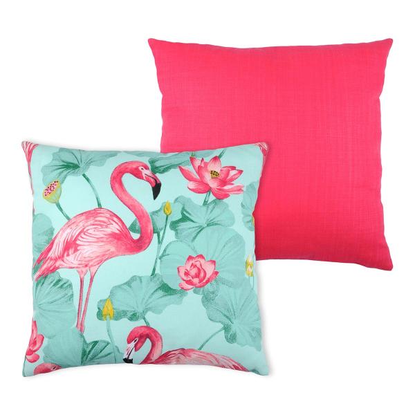 Διακοσμητικό Μαξιλάρι 2 Όψεων (50x50) S-F Flamingo C18263002