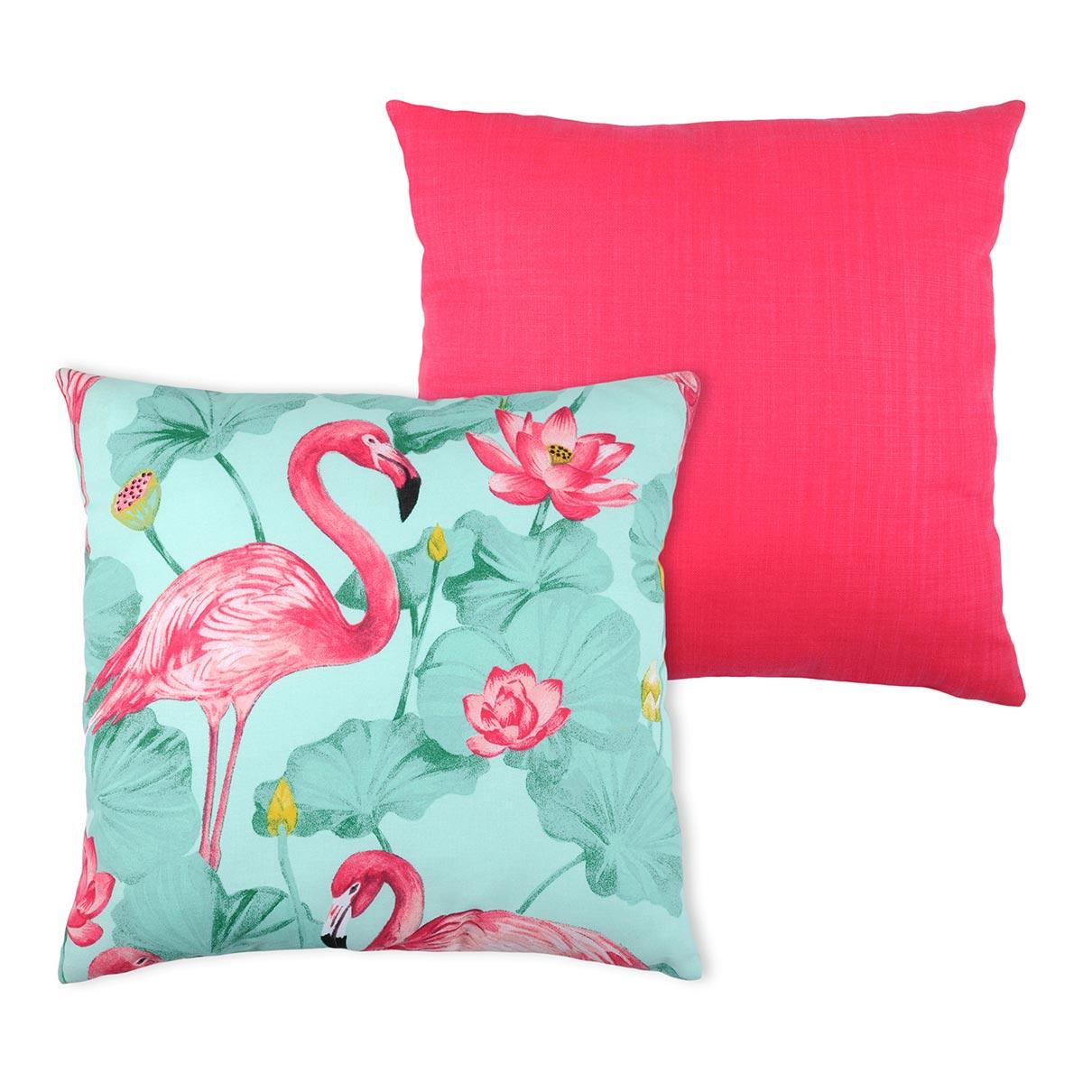 Διακοσμητικό Μαξιλάρι 2 Όψεων (50×50) S-F Flamingo C18263002