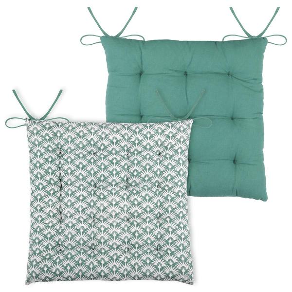 Μαξιλάρι Καρέκλας 2 Όψεων S-F Palma Emerald CUA114003GAL-16
