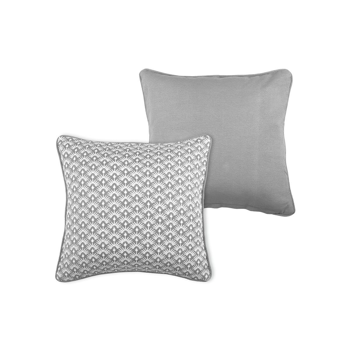 Διακοσμητικό Μαξιλάρι 2 Όψεων (40×40) S-F Palma Gris C0A114005
